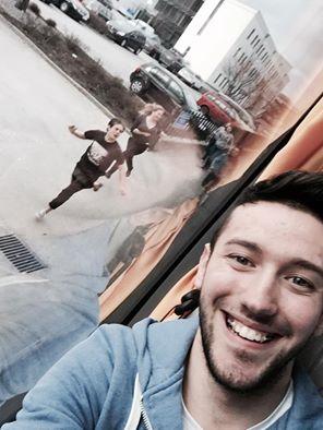 Selfie med crazy hejdå-svenskar.